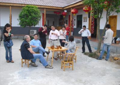 Besprechung mit Chinesischen Geschäftspartnern
