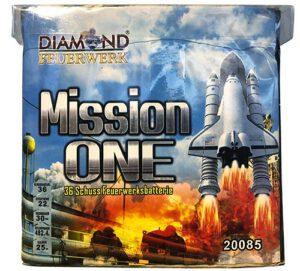 Feuerwerksbatterie Mission one