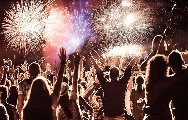 Feuerwerk für Geburtstage und Hochzeiten, Norddeutschland