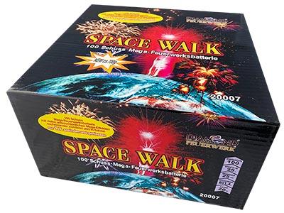 Feuerwerksbatterie Space Walk Diamond Feuerwerk