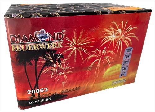 Feuerwerkbatterie Tropical Beach