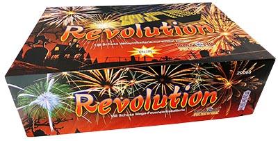 Feuerwerksbatterie Revolution Diamond Feuerwerk