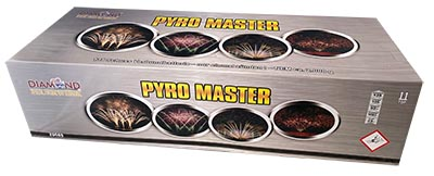 XXL Verbundfeuerwerksbatterie Pyro Master Diamond Feuerwerk