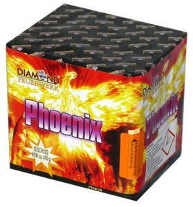 Feuerwerks Batterie Phoenix Diamond Feuerwerk
