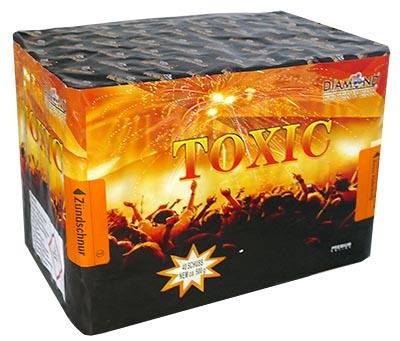 Feuerwerksbatterie Toxic Diamond Feuerwerk