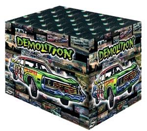Demolition Feuerwerksbatterie