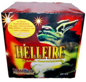 Feuerwerksbatterie Hell Fire Diamond Feuerwerk